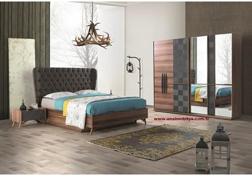 Ela Yatak Odası (BAZALI)